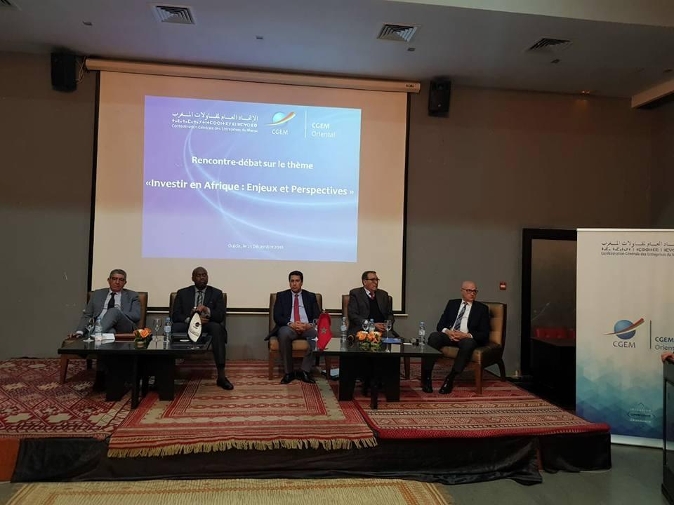 Moussa MARA participe au colloque organisé par le conseil régional orientale du Maroc