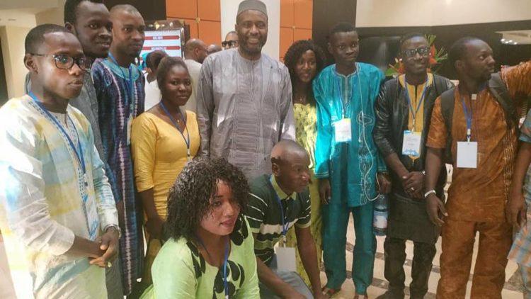 Moussa MARA participe à la rentrée solennelle nationale de la Jeune chambre internationale
