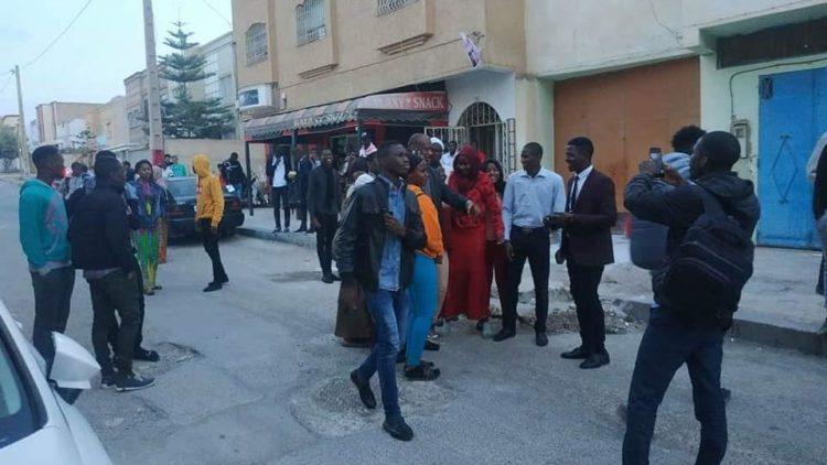 Moussa MARA a rencontré la communauté malienne d'Oujda