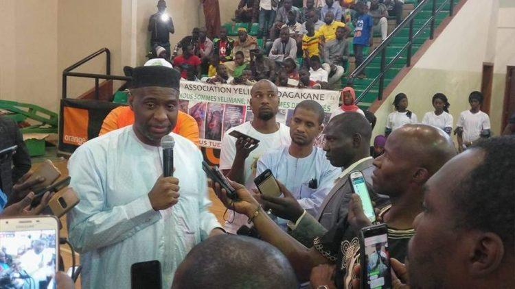 Moussa MARA à l'Assemblée de l'association DAGAKANE