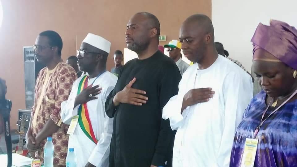 Moussa MARA participe à Mopti, à la conférence régionale du parti YELEMA