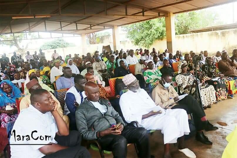 Visite à Kadiolo de Moussa Mara sur la situation du Mali