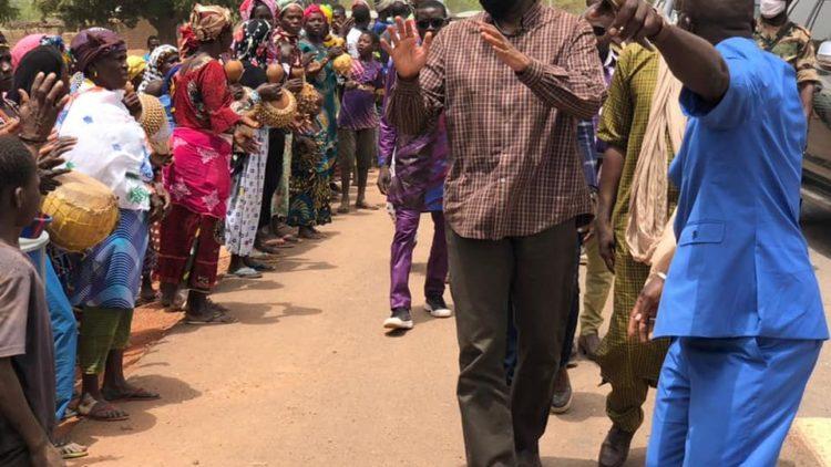 3E JOURNEE DE LA TOURNEE DE MOUSSA MARA DANS LES REGIONS DE SIKASSO, BOUGOUNI ET KOUTIALA: ETAPE DE KOLONDIEBA