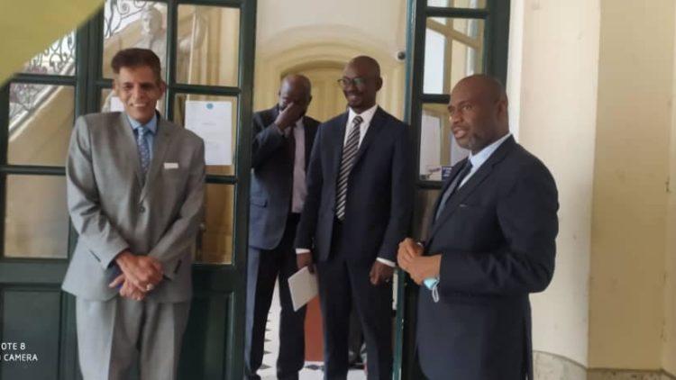 Moussa MARA à l'Ambassade du Mali et au Foyer DIDEROT ce Lundi 05 Juillet 2021.
