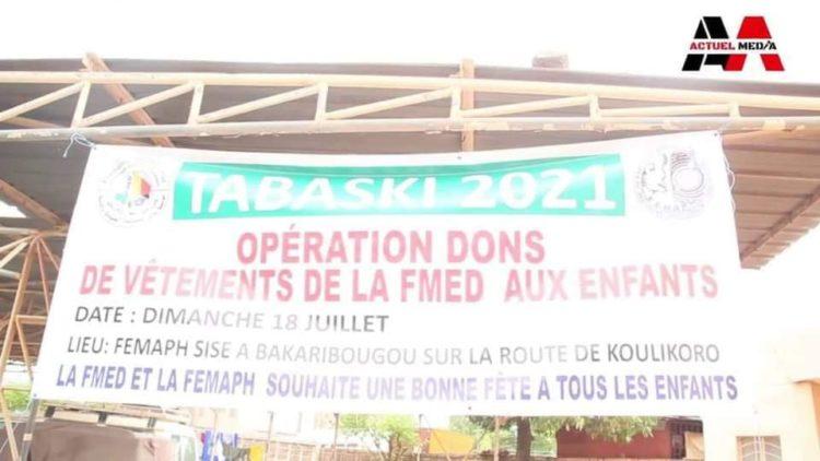MOUSSA MARA A TRAVERS LA FMED SOLIDAIRE AUX PERSONNES VIVANT AVEC LES HANDICAPS.