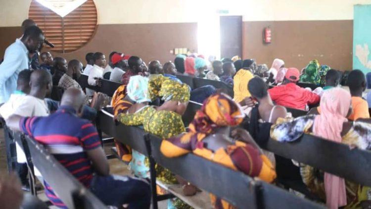 MOUSSA MARA SOUTIENT L'ASSEMBLEE POPULAIRE DE NIAMAKORO.