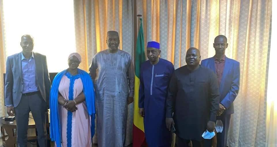 MOUSSA MARA EN VISITE AU GHANA